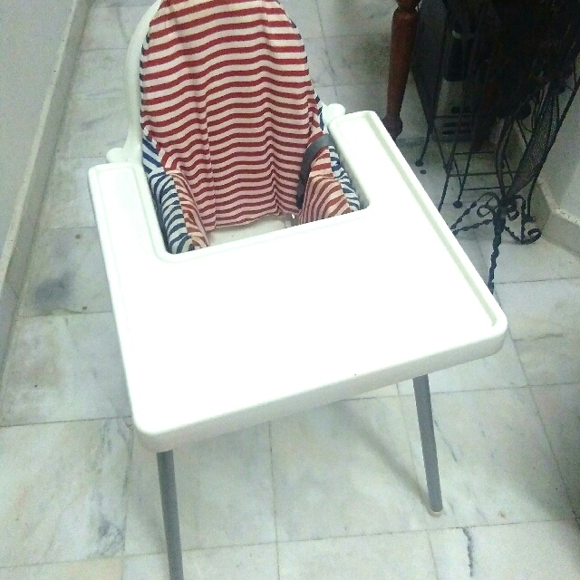 IKEA Baby Dining Highchair With Belt & Tray