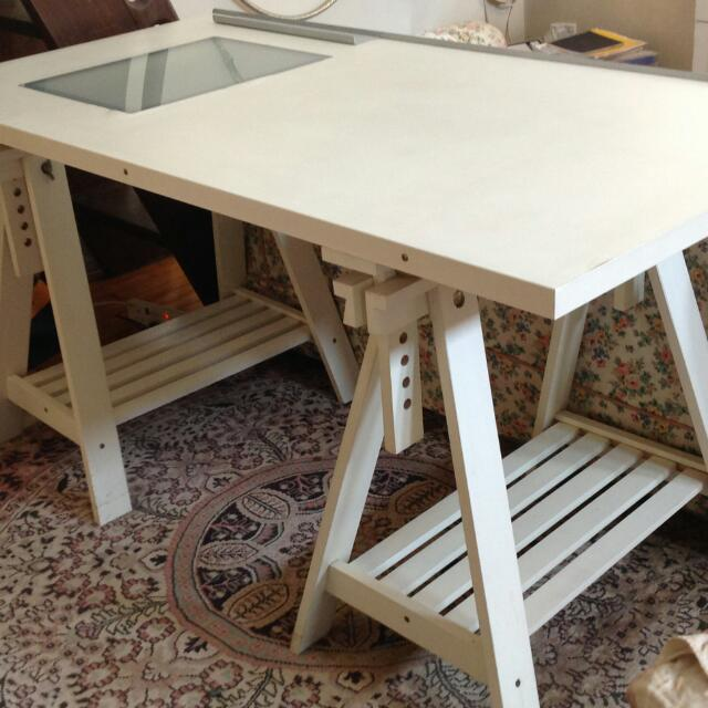 Ikea White Craft Table