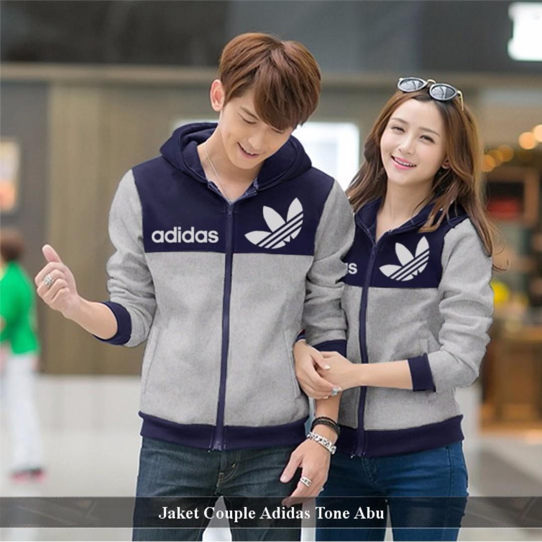 Jual Couple Jaket - Jaket Couple Murah - Jaket Couple Adidas Tone ... 44bc73efbf