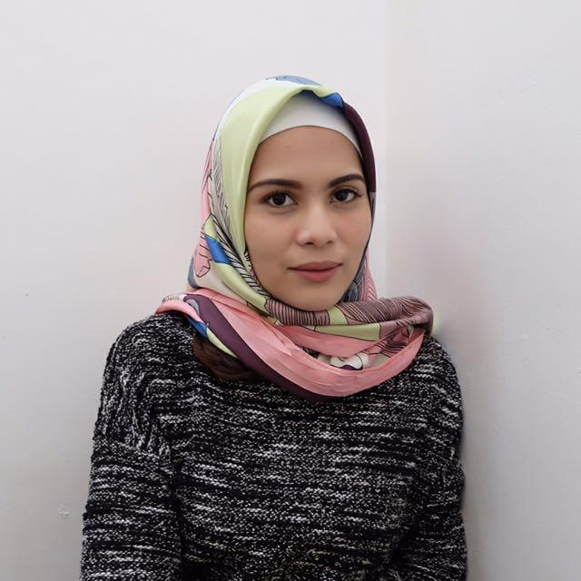 Kerudung segiempat hijab square PIVA