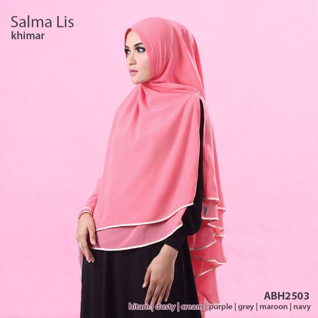 Khimar Salma Lis