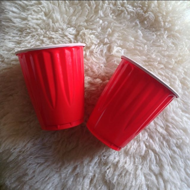 Kirkland Signature Big Red Beer Pong Cups