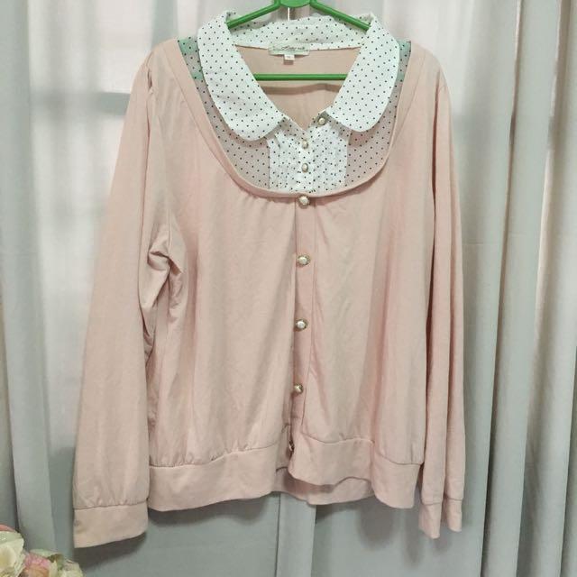 Korean Rose Pink Top