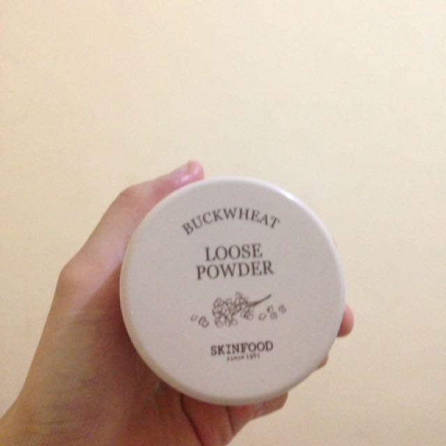 loose powder skin food
