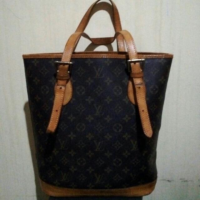 Louis Vuitton Ori Leather Tote Bag