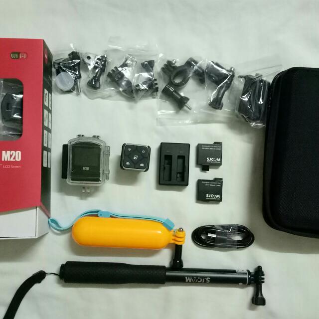 M20 SJCAM- FREE Universal Clip Lens