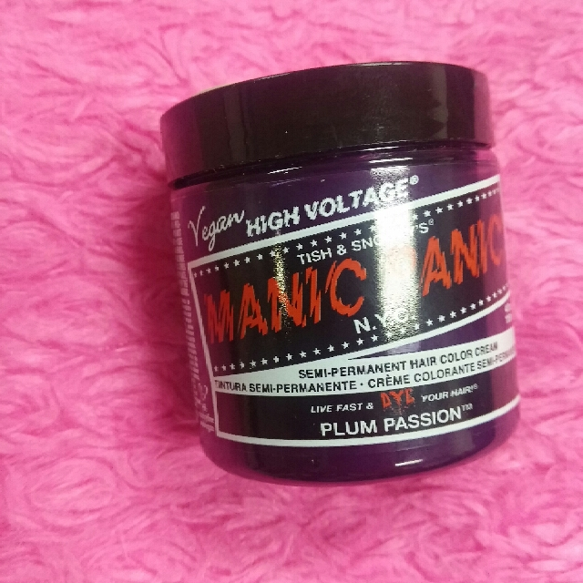 Manic Panic Hair Color Plum Passion Preloved Health Beauty Hair