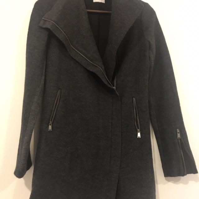 Marcs Coat Charcoal