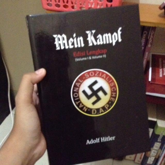 Mein Kampf by Adolf Hitler (Hardcover)