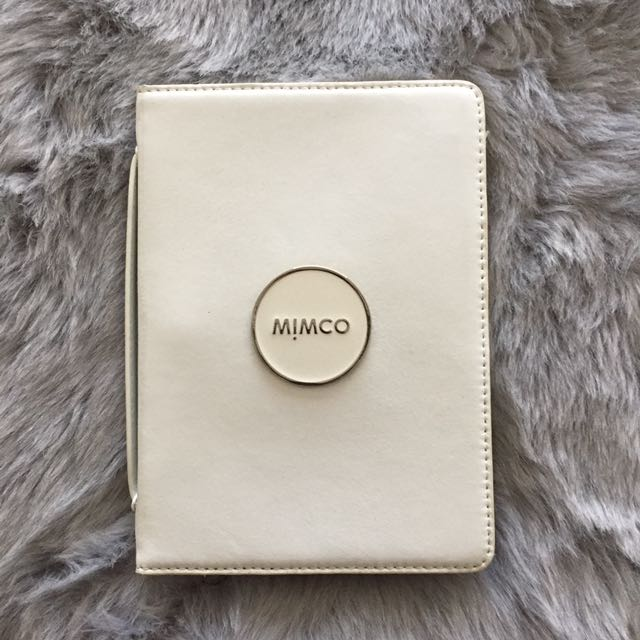 MIMCO MINI IPAD WHITE CASE