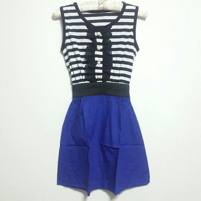 Mini Dress Garis