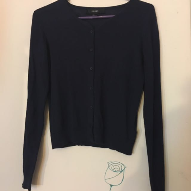 Navy Blue Cardigan
