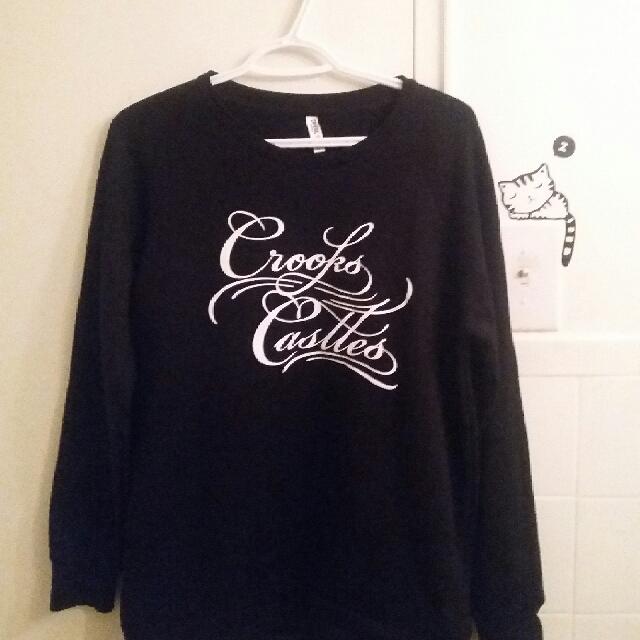 New! Crooks & Castles Sweatshirt