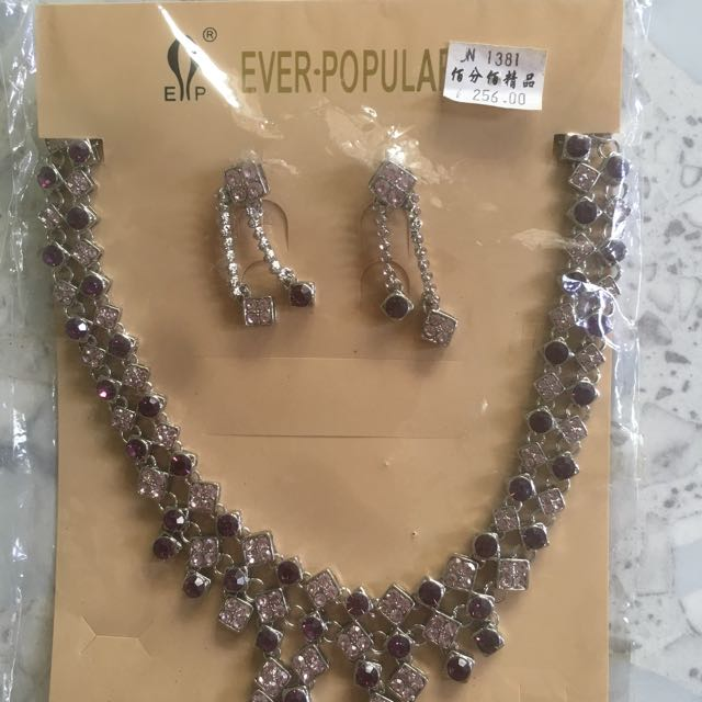 New Necklace & Earing