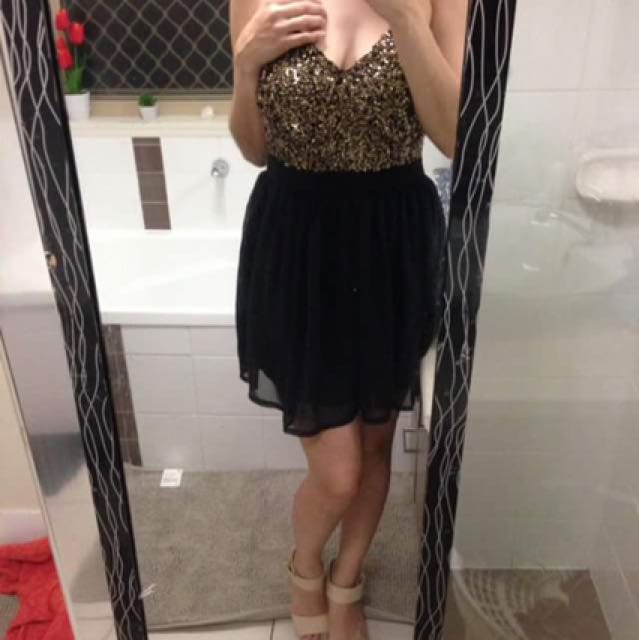 New sequin dress