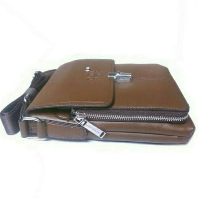 Original Montblanc leather