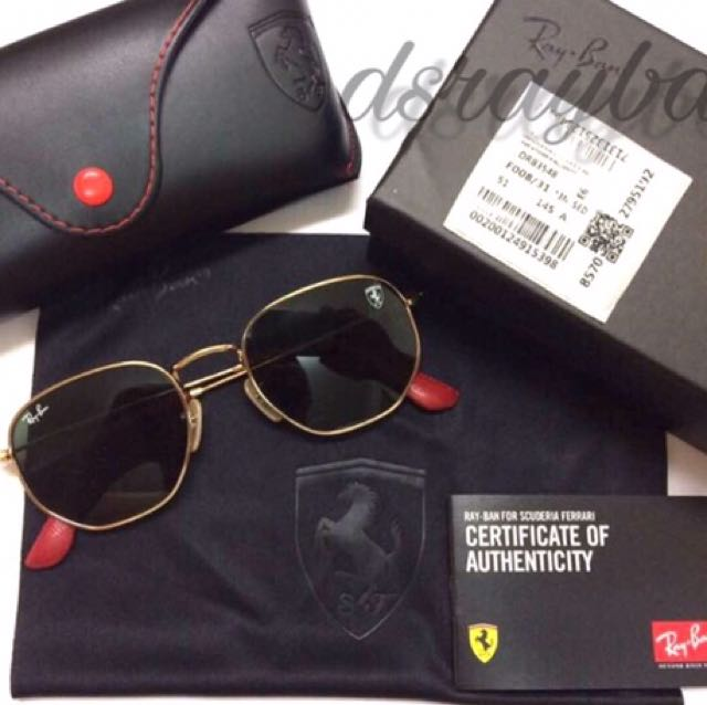 c36a823c0a the rayban for scuderia ferrari collection luxury retail hot new ...