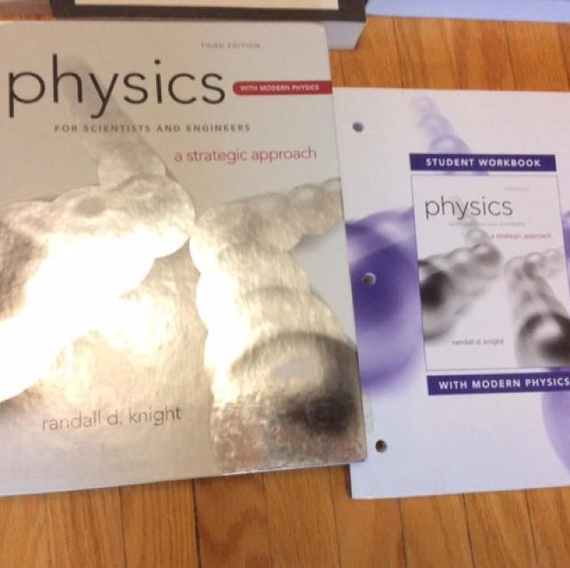 PCS120/130 Physics For scientists and engineers: A Strategic Approach  3rd Edition, PEARSON, RANDALL D. Knight