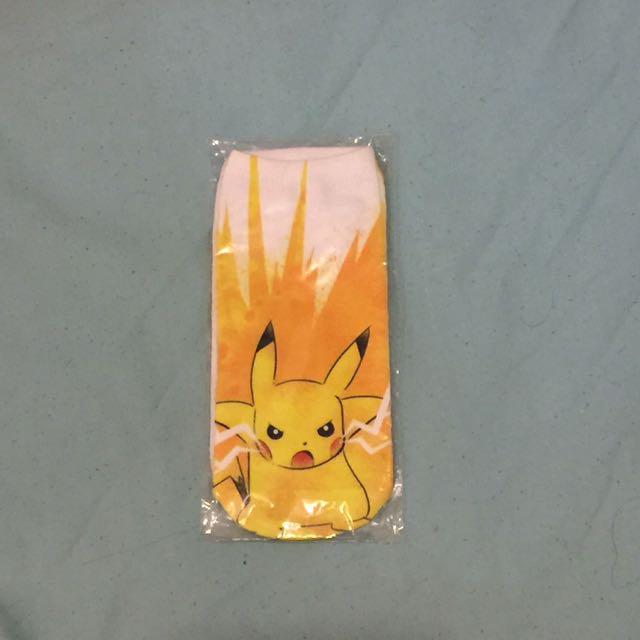 Pikachu pikapika socks