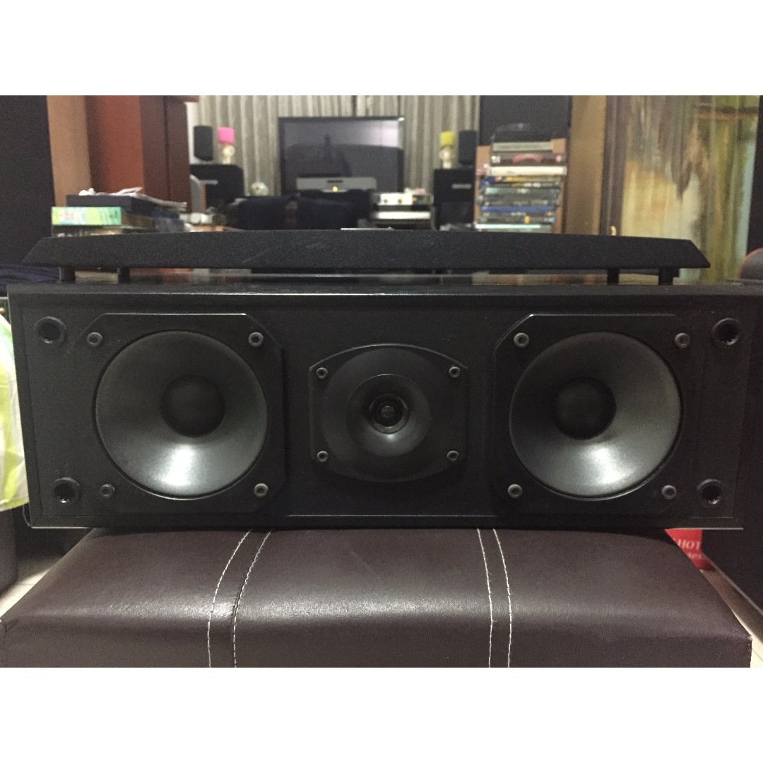 Pioneer Linear Power S-C705 Center Channel Speaker, Made