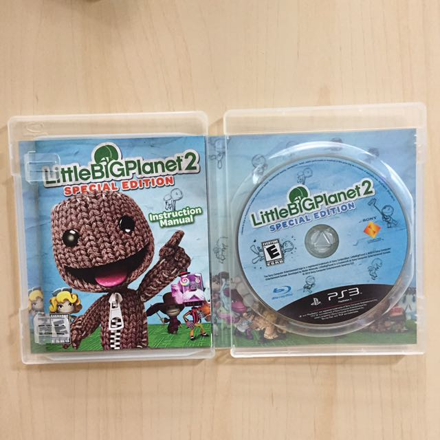 ps3 little big planet 2 special edition video gaming video rh my carousell com Little Big Planet 3 Little Big Planet 2 Logo