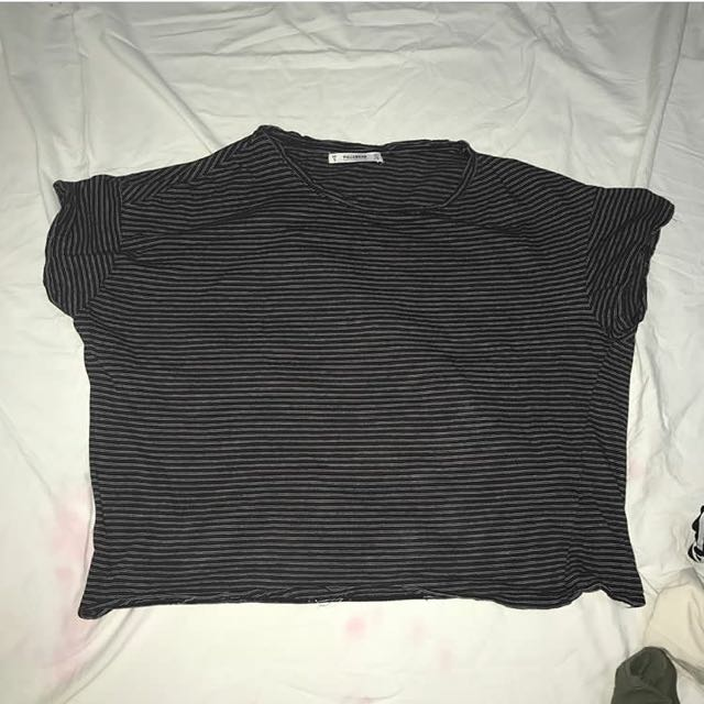 pull & bear striped shirt
