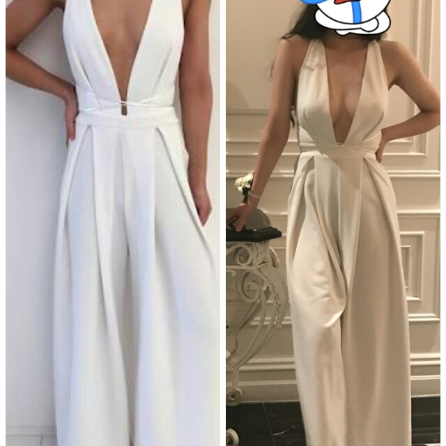Renting natalie rolt white jumpsuit women 39 s fashion - Jumpsuit hochzeit ...