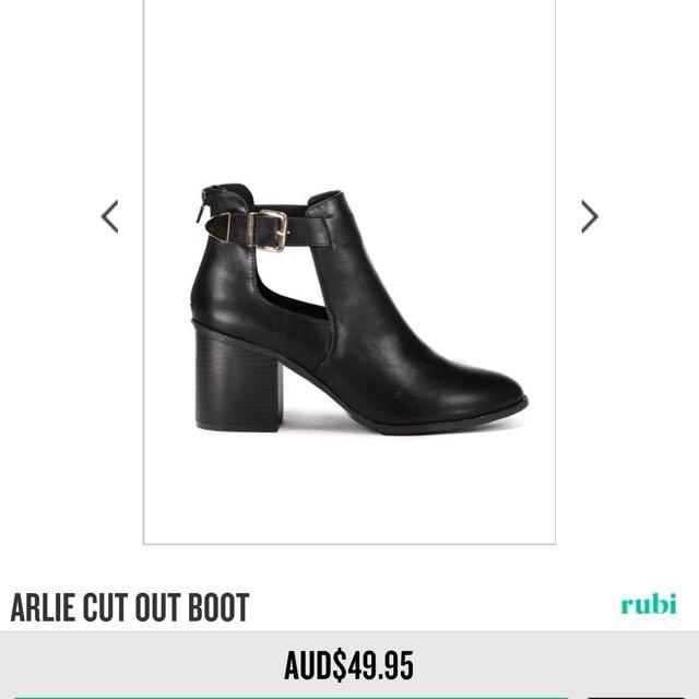 Rubi Shoes Arlie cut out boots - 37