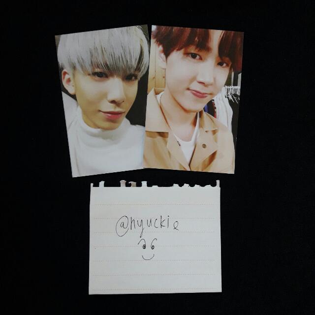 SF9 Burning Sensation Hwiyoung Jaeyoon Photocards