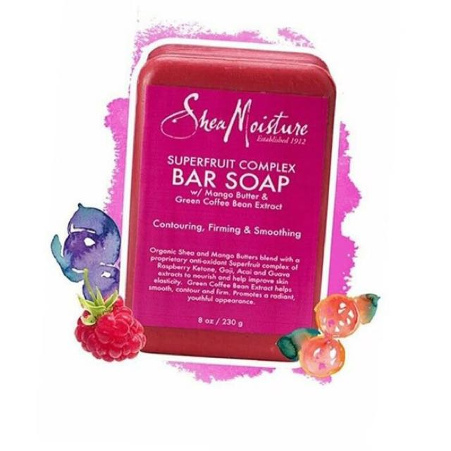 Shea Moisture Bath and Body Soaps