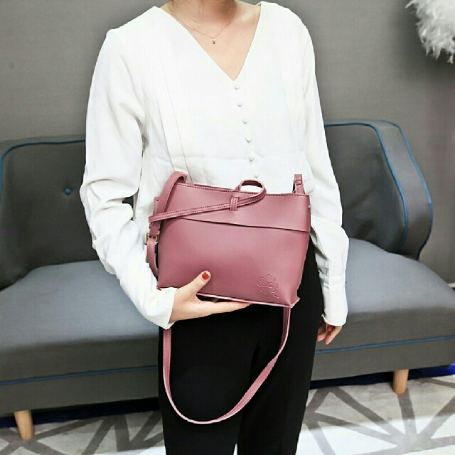 Sling Bag,  Thick Leather Material