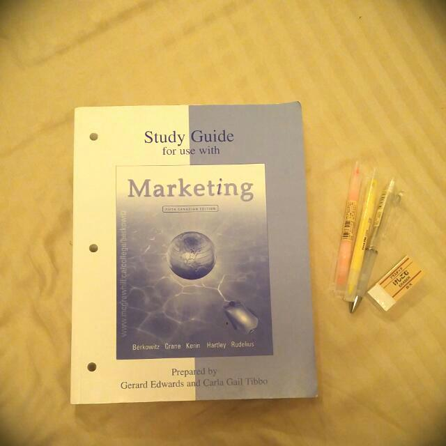 Study Guide For Use With Marketing