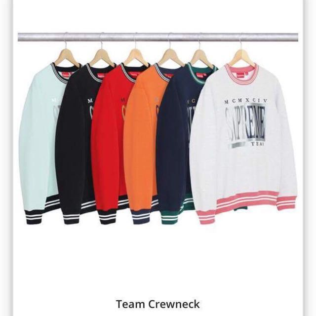 22774be2da53 Supreme Team Crewneck. Medium.
