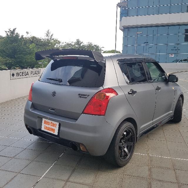 Swift Sport Manuel Exhaust With Cert.