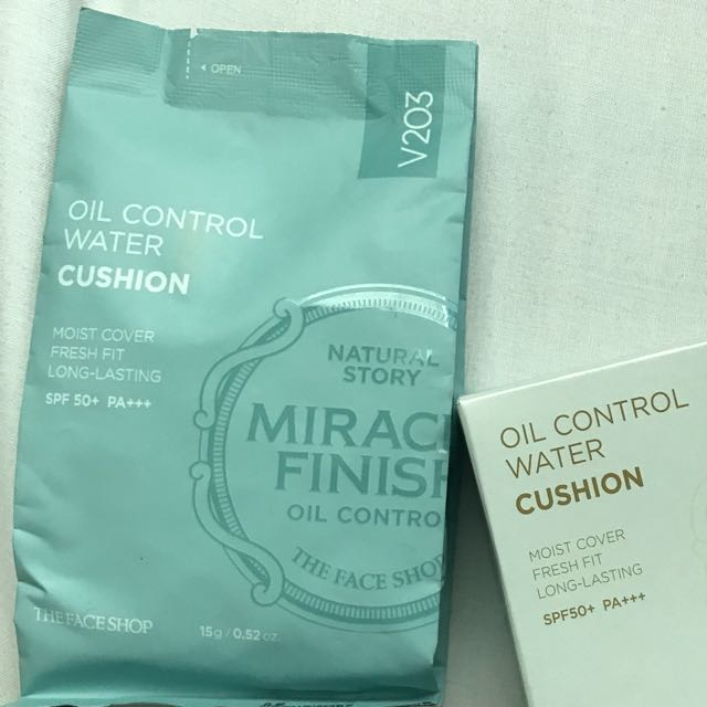 TheFaceShop Oil Control Water Cushion Refill