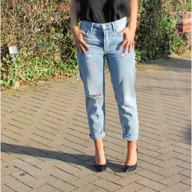 Top shop boyfriend jeans