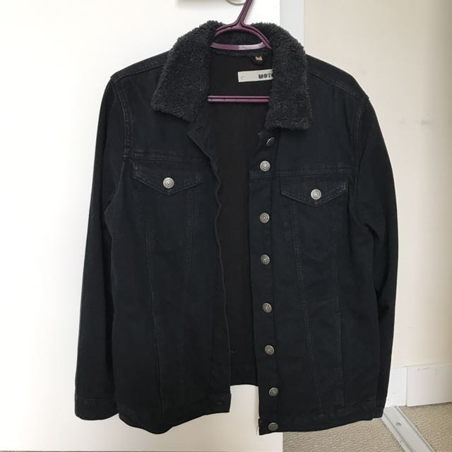 topshop Denim Jacket (size Us 8)