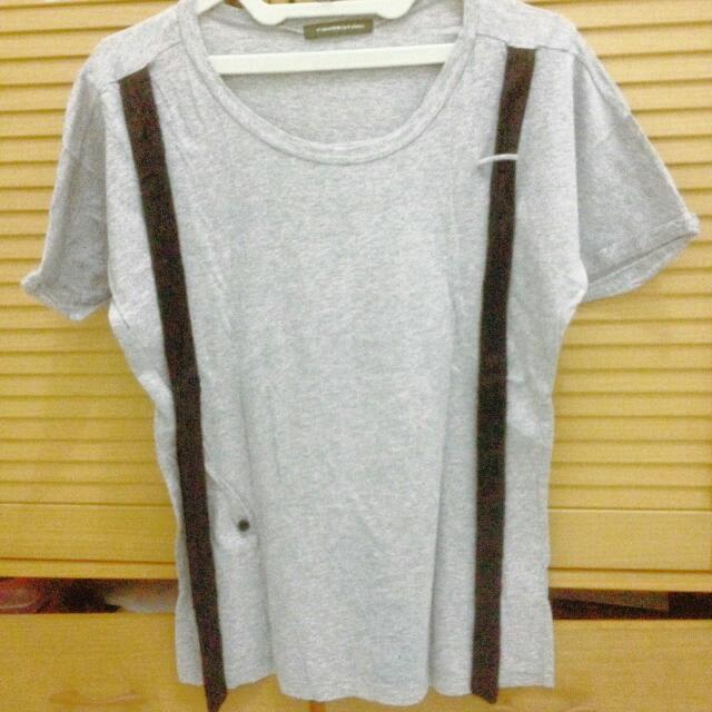 T-Shirt Abu-abu