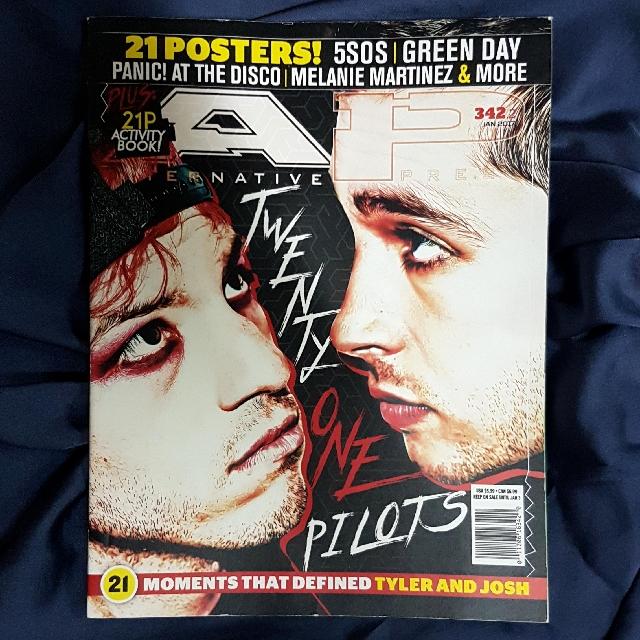 TWENTY ONE PILOTS Alternative Press Jan 2017