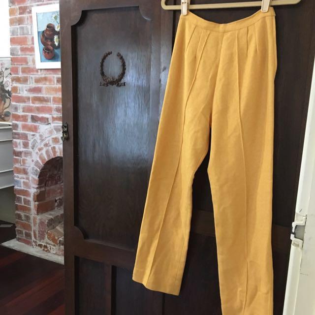 Vintage Lemon Pants