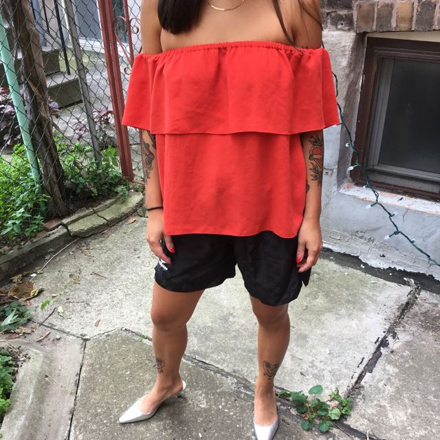 Wilfred Off Shoulder Top XXS