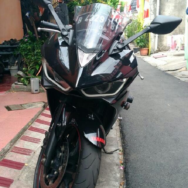 Yamaha R 25 Kondisi Kece Badai Harga 40 Jt net Full Modive 😉