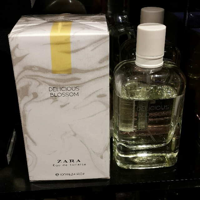 Zara Woman Edt 100 Ml Delicious Blossom Original 100 Health