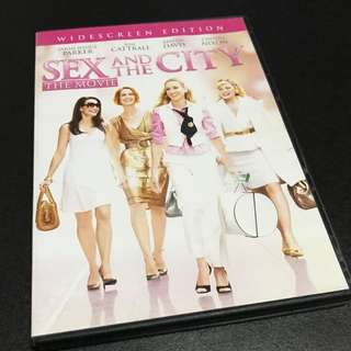 SEX And THE CITY The Movie DVD