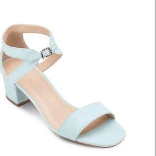 Zalora Blocked Heels Size 5