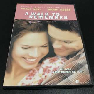 A WALK TO REMEMBER Movie DVD