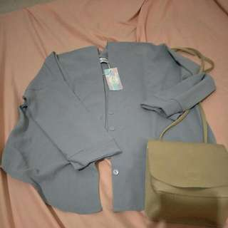 Cardigan Grey New Mayoutfit