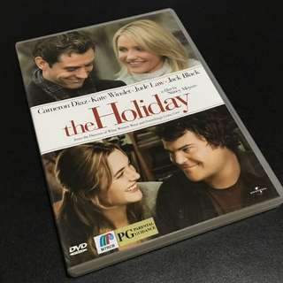 THE HOLIDAY Movie DVD