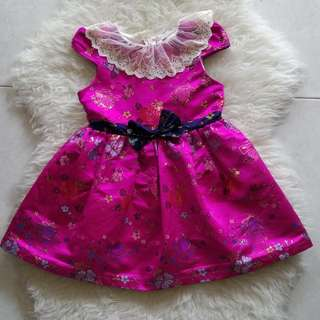 HANBOK DRESS USIA 1-2 thn