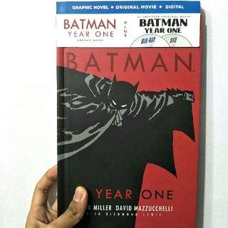 Batman - Year One (w Blu-ray & DVD)